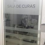 Puerta cristal templado