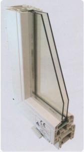 Alumiglass - Perfil 70/PVC/201