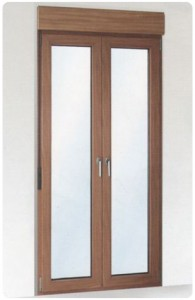 Alumiglass - Puerta 70/PVC/201