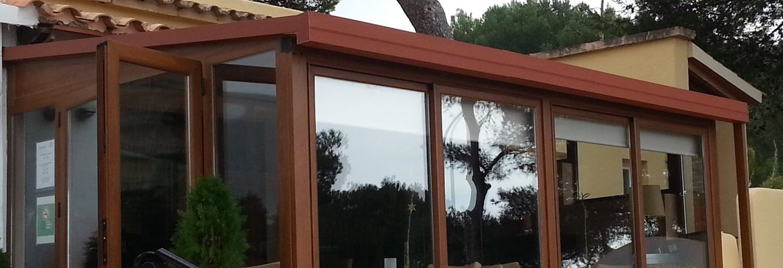 Instalación de techos y toldos en Palma de Mallorca.